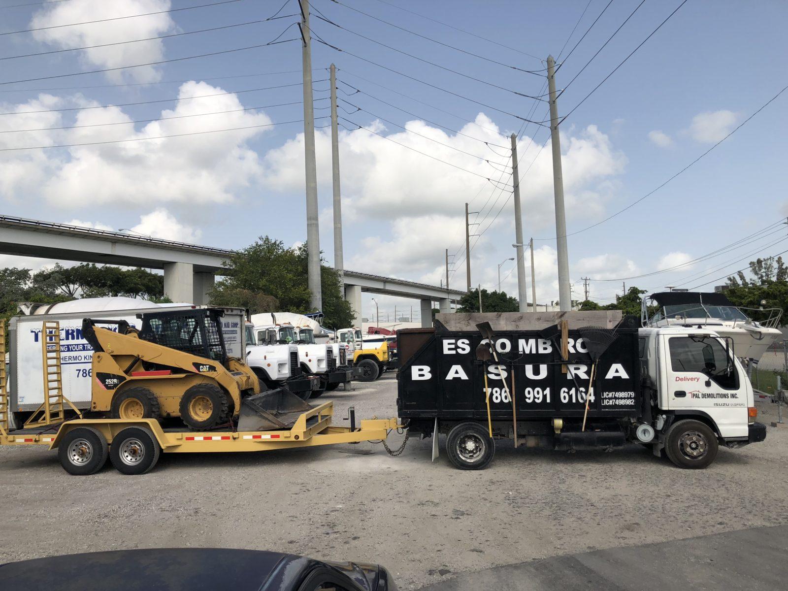 Demolition and Trash Removal